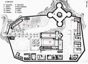 mappa monastero