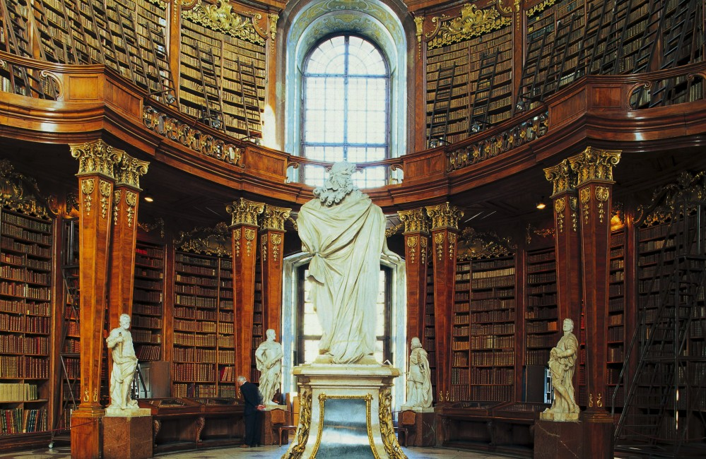 Biblioteca-Nazionale-Vienna-Austria.