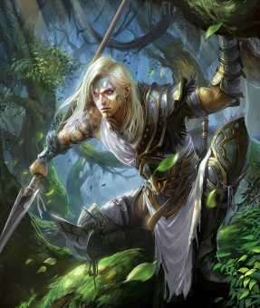 half-elf ranger male