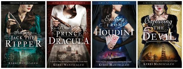 Stalking Jack the Ripper Series by Kerri Maniscalco